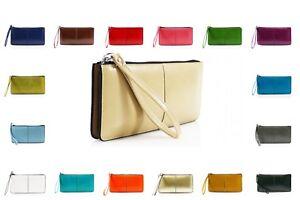 Ladies Girls Womens Wristlet Phone Pouch Zip Long Coin Purse Ladies Wallet Card
