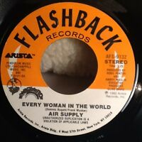 "Air Supply 7"" 45 RPM VINYL RECORD ""Every Women in the World"" ""The One You Love"""