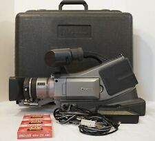 Panasonic Ag-Dvc15P Camcorder with Case and 3 New Tapes