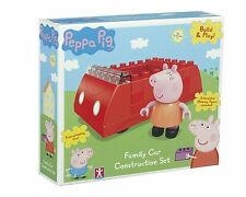 Peppa Pig Construction Peppa's Red Family Car inc Mummy Pig Figure NEW