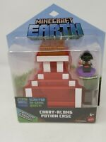 Minecraft Earth Carry-Along Potion Case Set NEW Figure Game FREE SHIPPING