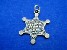 Key Chain Wild Wild West Atlantic City New Jersey Vintage