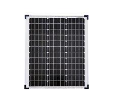 50 W Solarmodul Solarpanel Photovoltaik Solarzelle 50 Watt mono NEU TÜV Zert.