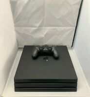 Sony PlayStation 4 PS4 Pro Console - Black 1TB With Controller and HDMI