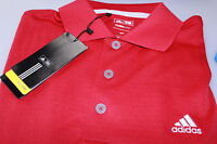 Adidas Climalite Golf Polo Shirt Red Grey Blue White Royal Waffle Farbric S +XXL