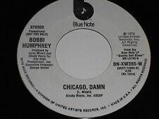 BOBBI HUMPHREY VG+ 45 Chicago Damn Blue Note PROMO mono/stereo bobbie bobby