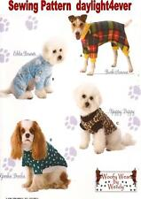 Dog Pet Coat Clothes Sweater Sewing Pattern 3939  Simplicity New Size S-M-L #u