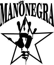 Sticker Mano Negra - 57x68 cm