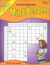 Critical Thinking - Mind Benders Book 6 (Grades 7-12)