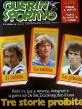 Guerin Sportivo 46 1983 Storia tifoseria Genoa e SAMP