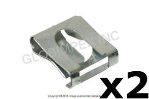 SAAB 9-3 9-5 900 (1994-2009) Exhaust Hanger Clip (2) PRO PARTS + 1 YEAR WARRANTY