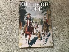 Vintage - Outdoor Life - March 1916 - Hunting,Fishing,Furs -  Illustrated/Ads
