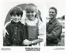 JUSTIN CHAPMAN WILLIAM KATT JENNIFER OGLETREE PROBLEM CHILD 3 1995 NBC TV PHOTO