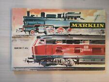 Catalogue Marklin 1968 1969 Complet en FRANCAIS