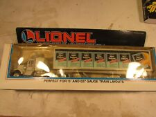 Lionel 12811 Alka Seltzer Tractor and Trailer with original box