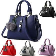 4c44cb1a3d UK Large Fashion Handbag Tote Shoulder Bag Women Leather Messenger Satchel  Bags