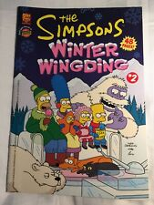 The Simpsons Winter WingDing #2 (PB,2008) 48 Pages  Bongo/Otter Press