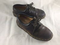 Dr Doc Martens Brown 5-Eye Leather Oxfords 8053 Mens US 7 UK 6 Made in England