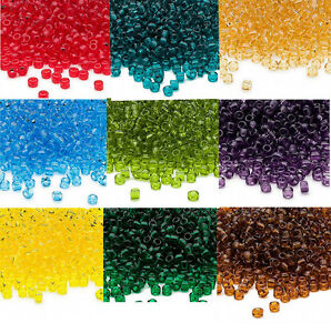 Yochus 24000pcs Glass Seed Beads 2mm Small Craft Beads 24 Colors Beads Kit for DIY Jewelry Making