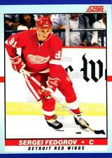 1990-91 Score Young Superstars #9 Sergei Fedorov