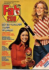 Fab 208 Magazine 25 October 1975     Alice Cooper     The Bay City Rollers