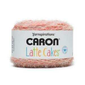 Caron Latte Cakes Soft Textured Yarn 250G Ball- 16 Colours to choose from