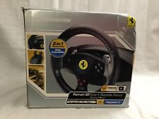 New In Open Box! Thrustmaster Ferrari GT 2 In 1 Rumble Force Racing Wheel PC PS2