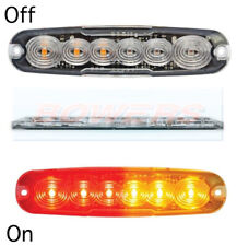 SLIM LINE COMPACT LED REAR COMBINATION STOP/TAIL/INDICATOR TRUCK PERIMETER LIGHT
