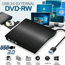 More details for external cd/dvd drive usb 3.0 portable slim dvd/cd rom rewriter burner writer