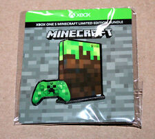 Minecraft Xbox One Console Controller Bundle Pin Gamescom 2017 Limited Editition
