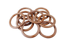"""Proops Pack of 10 Macrame Rings 76mm 3"""" String Knotting Craft. S7333"""
