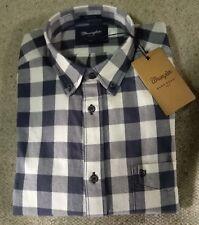 WRANGLER jeans camicia Scacchi Western Quadri Blu Tg.XL