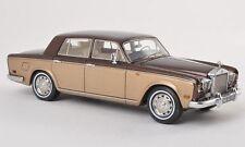 Rolls Royce Silver Shadow brown met/gold met 1974 NEO 44175 1:43
