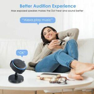 UK 360° Desk Table Holder Stand Mount For Amazon Echo Dot 3rd Gen Smart Speaker