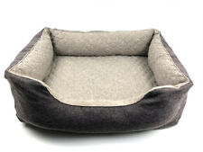 PREMIUM LUXURY 2-in-1 Reversible Dog Bed - Memory Foam - 4 Sizes Available