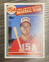 1985 Topps Mark McGwire ROOKIE RC #401 - 9 MINT GUARANTEED - Zoooooom on pics!