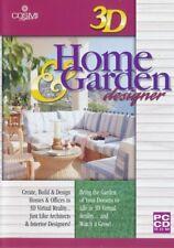 3D Home & Garden Designer - Architect Planner - PC CD-ROM (Disc in Sleeve)
