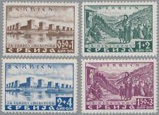 Serbien Mi.Nr. 46-49 postfrischer Satz