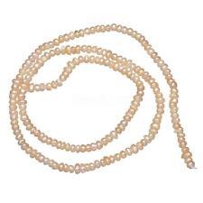 "Real Natural Freshwater Pearl Loose Beads Lots Wholesales Potato 2-3mm Pink 15"""
