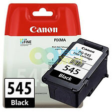 Genuine Canon PG-545 Black Ink for Pixma MG2450 MG2550 MG2950 MG3050 MG3051 3052