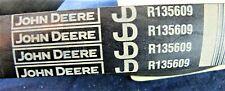 R135609 John Deere Poly V Belt, Alternator (185 Amp.) [A6]