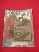 Social Studies World Geography - 10 * 1106 * School Of Tomorrow PACE