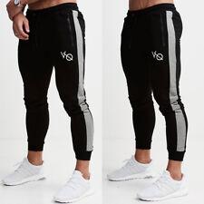 Mens Sport Pants Long Trousers Tracksuit Fitness Workout Joggers Sweatpants S6