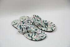 #228 Tory Burch 'Miller' Floral Flip Flop Sandals Size 8 M  $198