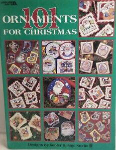 101 Ornaments for Christmas Cross Stitch Pattern Leaflet 3016