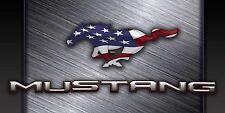 Very Large 4'x8' Ford Mustang Car Auto Garage Shop Vinyl Banner Sign Wall  Art