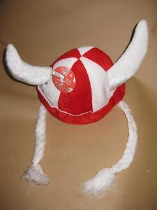 12 x ST GEORGE VIKING HAT PLAITS ENGLAND BRITISH FANCY DRESS RUGBY FOOTBALL