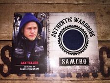 Sons Of Anarchy Authentic Wardrobe Card Of Jax Teller.