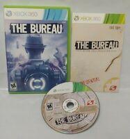 The Bureau Xcom Declassifid Game - Microsoft Xbox 360 Rare Tested Works Complete