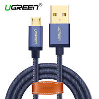 UGREEN Micro USB Fast Charging & Data Sync Cable For Samsung HTC Cowboy Braided